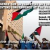 News Release: Declaration from Palestine Convergence at PSF / Communiqué -Déclaration Convergence Palestine @ FSP