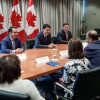Israel lobby group paints protesters as existential threat to peace in Trudeau meeting