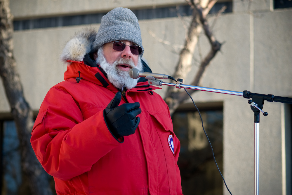 Jeff Halper speaking in Canada, Jan. 2009