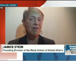 Janice Stein: Please distance yourself from the Jewish National Fund