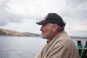 Bob lovelace aboard the Marianne