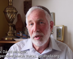 Rabbi David Mivasair of IJV Supports Freedom Flotilla III