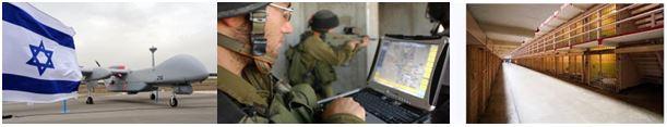3 pics israel militarism
