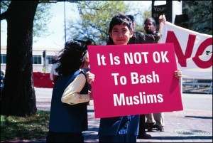not OK to bash muslims