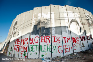 Merry xmas from Bethlehem ghetto