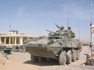 Canadian-made light armoured vehicles are being sold to Saudi Arabia, a repressive, dictatorial regime.