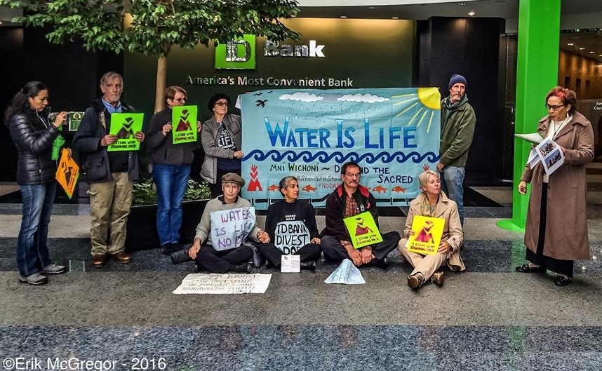 Divest TD Bank from the Dakota Access Pipeline