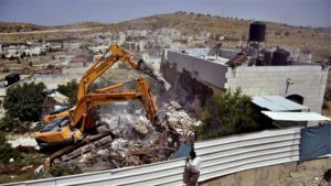 One of over 49,000 structures demolished by Israel in occupied Palestine since 1967.