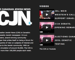 Canadian Jewish News shows its Chutzpah in Justifying Censorship of Progressive Jewish Voices