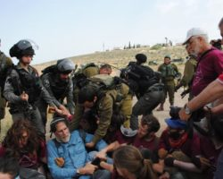 Canadian Rabbi among 17 Detained by Israeli Military while rehabilitating access road